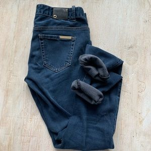 AX Armani Exchange Stretch Mid Rise Skinny Jeans